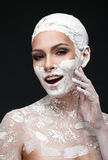 Glamorous spa επεξεργασίες στοκ εικόνες
