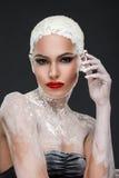Glamorous spa behandelingen Stock Afbeeldingen