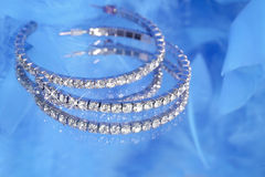 Glamorous sparkling diamonds Royalty Free Stock Image