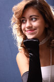 Glamorous teen Stock Photo