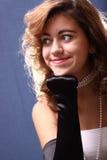 Glamorous teen Stock Photo