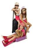 Glamorous tourists Stock Photo