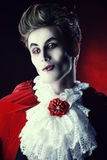 Glamorous vampire Royalty Free Stock Photo
