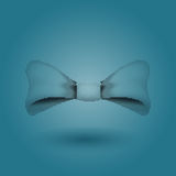 Glamorous vector 3d bow tie. Halftone. Stock Photography