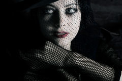 Glamorous woman Stock Photography