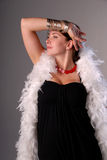 Glamorous woman. Royalty Free Stock Photography