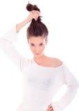 Glamorous woman posing Stock Photo