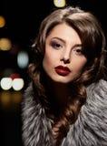 Glamorous woman posing Stock Images