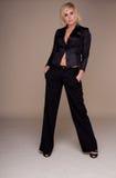 Glamorous Woman In Slacksuit Stock Photography