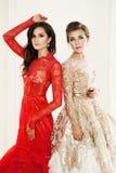 Glamorous Women. Beauty Fashion Portrait of Glamorous Women Stock Photos