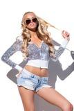 Glamorous young lady Stock Image