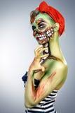 Glamorous zombie Royalty Free Stock Photo