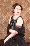 Glamorous Redhead Stock Image
