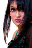 glamorös indisk kvinna Fotografering för Bildbyråer