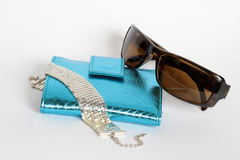 Glamour accessories Royalty Free Stock Image