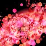 Glamour background bokeh blur. Illustration, eps 10 Stock Image