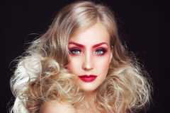 Glamour beauty royalty free stock photography