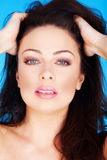 Glamour And Beauty Subtle Make-up Stock Photography