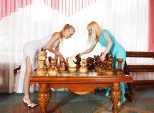 Glamour blonde Stock Photos