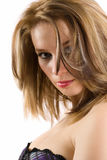 Glamour blonde lady Royalty Free Stock Photography