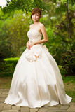 Glamour Chinese bride Royalty Free Stock Photography