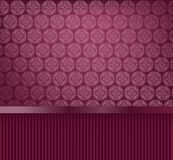 Glamour decorative wallpaper Stock Image