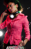 Glamour dj Royalty Free Stock Image