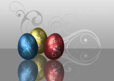 Glamour Easter Eggs Royalty Free Stock Images