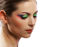 Glamour face Stock Photography