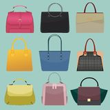 Glamour fashion bags Stock Images