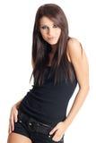 Glamour and fashion girl stock image