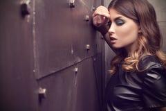Glamour fashion model. Royalty Free Stock Photography