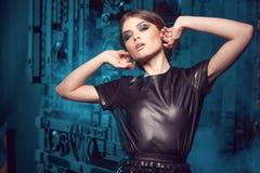 Glamour fashion model. Royalty Free Stock Photos