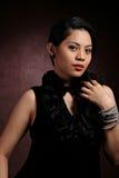 Glamour fashion portrait Stock Photography