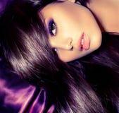 Glamour Fashion Woman Portrait. Beauty Girl. Glamour Fashion Woman Portrait royalty free stock image