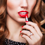 Glamour Fashion Woman Portrait Royalty Free Stock Images