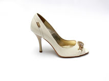 Glamour female shoe Royalty Free Stock Photos