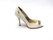 Glamour female shoe Royalty Free Stock Photos