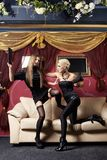 Glamour fight Royalty Free Stock Images