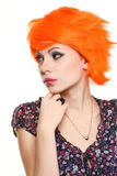 Glamour foxy girl Royalty Free Stock Images