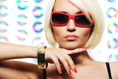 Glamour girl Stock Images