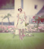 Glamour girl summer look Royalty Free Stock Image