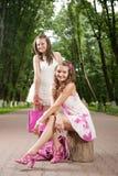 Glamour girls Royalty Free Stock Photo