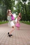 Glamour girls Stock Photography