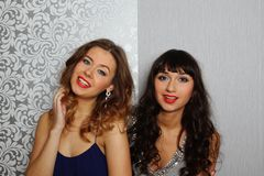 Glamour Girls Royalty Free Stock Photography