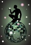 Glamour Globe. Vector glamour Globe Of Tiles Abstract Stock Illustration