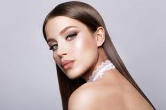 Glamour Lady Portrait. Stock Photos