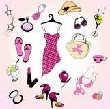Glamour lifestyle Stock Photography