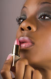 Glamour lips Stock Image