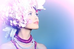 Glamour look Royalty Free Stock Photography